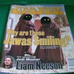 Star Wars Insider Magazine issue 36 jedi master liam neeson interview